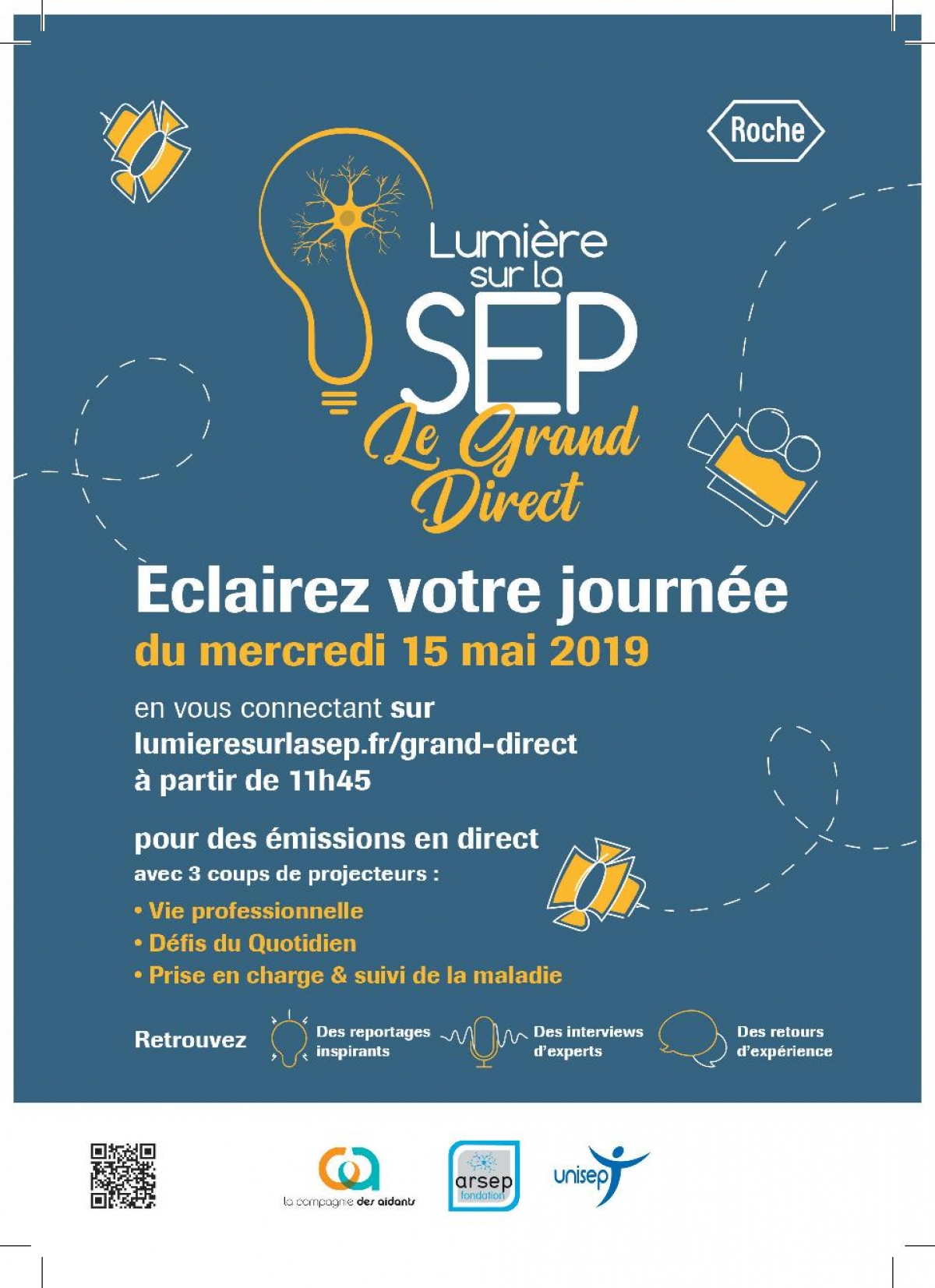LUMIERE SUR LA SEP : LE GRAND DIRECT !